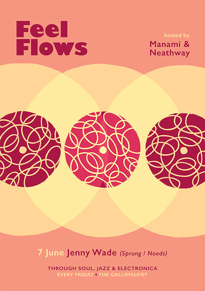 Feel Flows w/ Jenny Wade (Sprung / Noods) at The Gallimaufry in Bristol