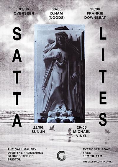 Satta Lites w/ D.ham (Noods) at The Gallimaufry in Bristol