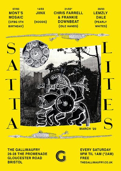 Satta Lites w/ Jiinx (Noods) at The Gallimaufry in Bristol