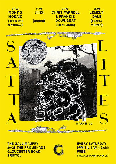 Satta Lites w/ Lemzyldale (Pearly Whites) at The Gallimaufry in Bristol