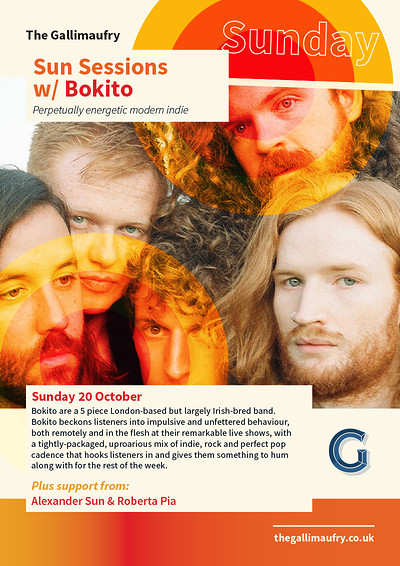Sun Sessions w/ Bokito at The Gallimaufry in Bristol