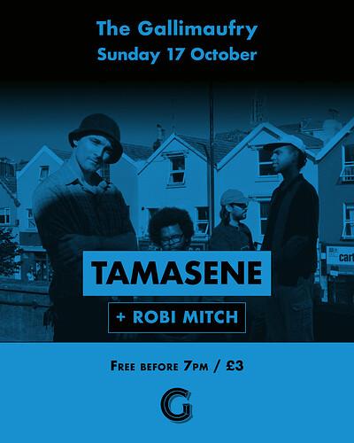 Tamasene + Robi Mitch at The Gallimaufry in Bristol