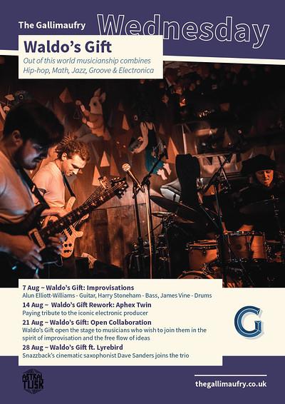 Waldo's Gift ft. Lyrebird at The Gallimaufry in Bristol