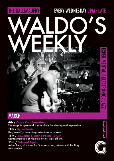 Waldo's Weekly: Reworks: Floating Points - Crush at The Gallimaufry in Bristol