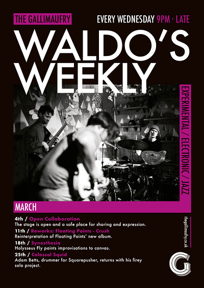 Waldo's Weekly: Reworks at The Gallimaufry in Bristol