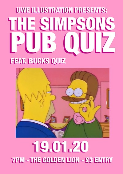 Bucks Quizz Presents: The Simpsons Pub Quiz! at The Golden Lion in Bristol