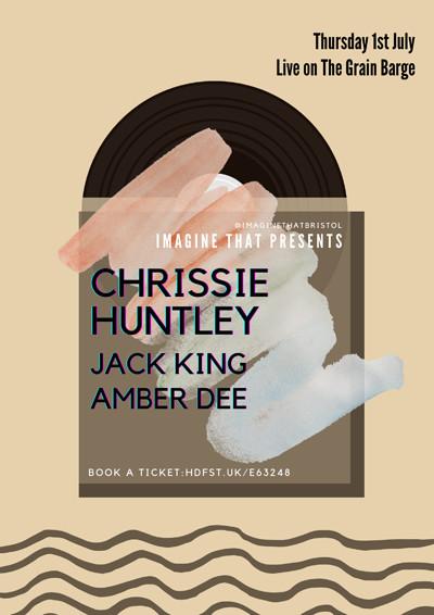IT: Chrissie Huntley, Jack King & Amber Dee  at The Grain Barge in Bristol