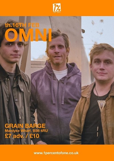 Omni at The Grain Barge in Bristol