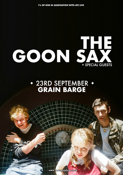 The Goon Sax at The Grain Barge in Bristol