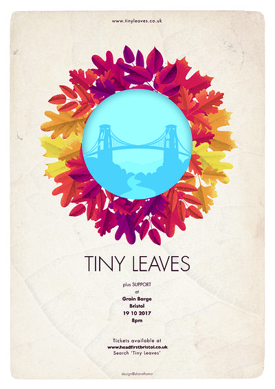 Tiny Leaves + support at The Grain Barge in Bristol