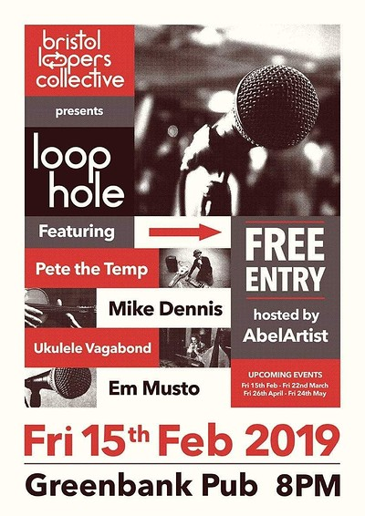 LOOPHOLE: Big Launch of BRISTOL LOOPERS COLLECTIVE at The Greenbank, Easton in Bristol