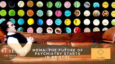 MDMA: The Future of Psychiatry Starts in Bristol  at The Greenbank Pub in Bristol
