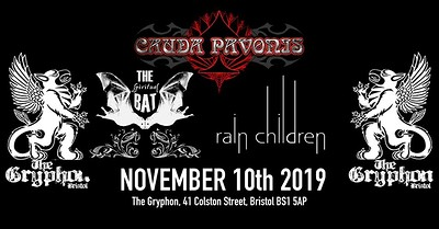 Cauda Pavonis & The Spiritual Bat & Rain Children at The Gryphon in Bristol