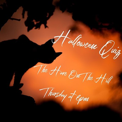 Halloween quiz at the Hare on the Hill at The Hare on the Hill in Bristol