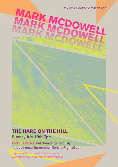 Mark McDowell at The Hare on the Hill in Bristol