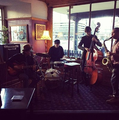 The Old Malt House Jazz Band at The Hare on the Hill in Bristol