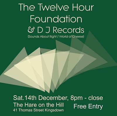 The Twelve Hour Foundation at The Hare on the Hill in Bristol