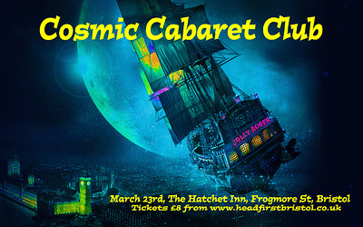 Cosmic Cabaret Club Night and Costume Party at The Hatchet in Bristol