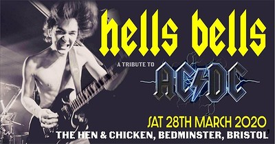 Hells Bells a tribute to AC/DC at The Hen & Chicken  in Bristol