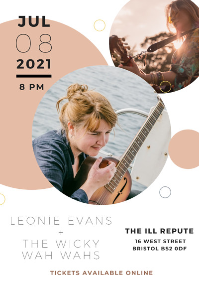 Leonie Evans + The Wicky Wah Wahs at The Ill Repute in Bristol