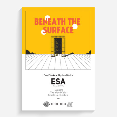 Beneath The Surface: Esa (3HRS) at The Prison Cell at The Island in Bristol
