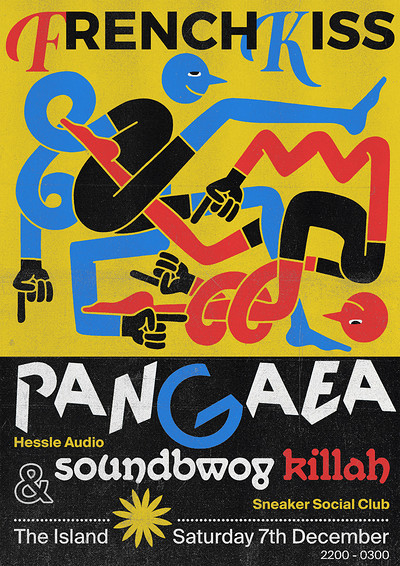 French Kiss presents: Pangaea & Soundbwoy Killah at The Island in Bristol