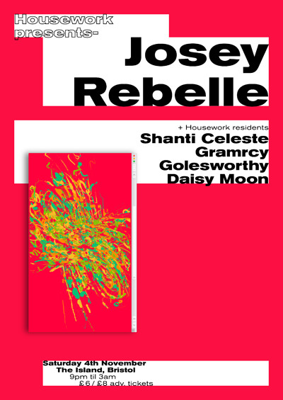 Housework presents: Josey Rebelle at The Island in Bristol