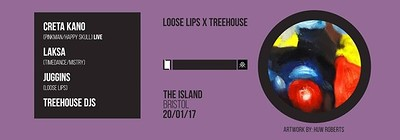 Loose Lips x Treehouse at The Island in Bristol