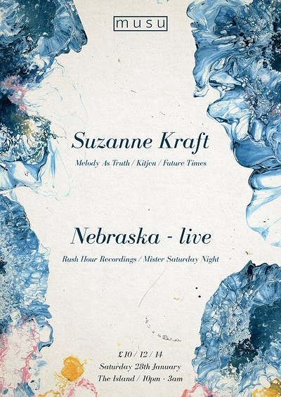 Musu ft. Suzanne Kraft & Nebraska (live) at The Island in Bristol