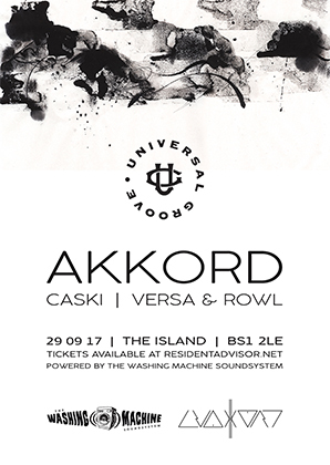 Universal Groove  'Akkord' at The Island in Bristol