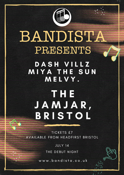 Bandista Presents at The Jam Jar in Bristol