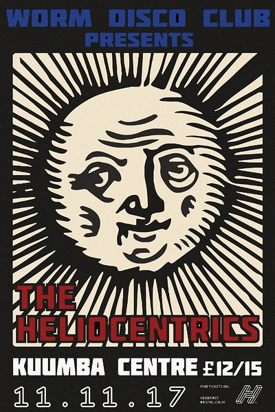 WDC Presents; The Heliocentrics at The Kuumba Centre in Bristol