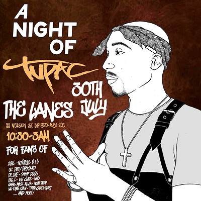 A Night Of: 2Pac at The Lanes in Bristol