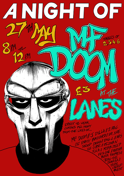 A Night Of: MF DOOM at The Lanes in Bristol