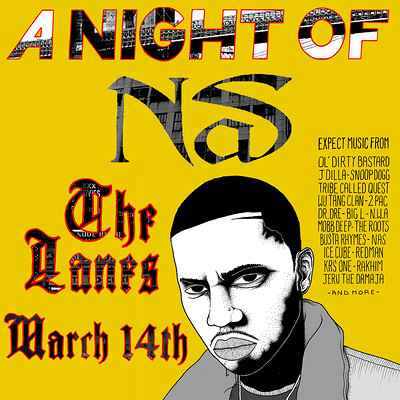 A Night Of: Nas at The Lanes in Bristol