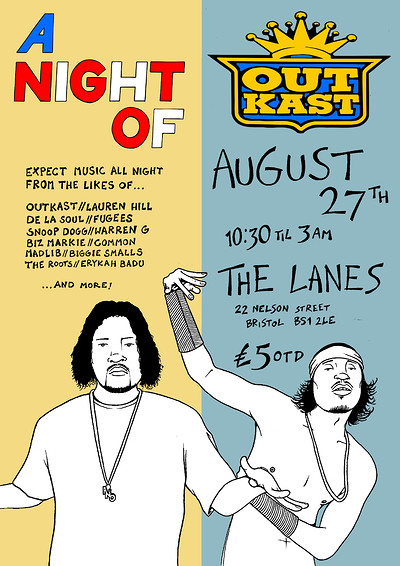 A Night Of: Outkast at The Lanes in Bristol