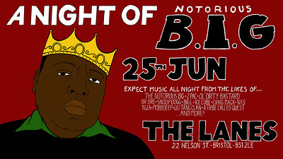 A Night Of: The Notorious B.I.G at The Lanes in Bristol