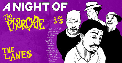 A Night Of: The Pharcyde at The Lanes in Bristol