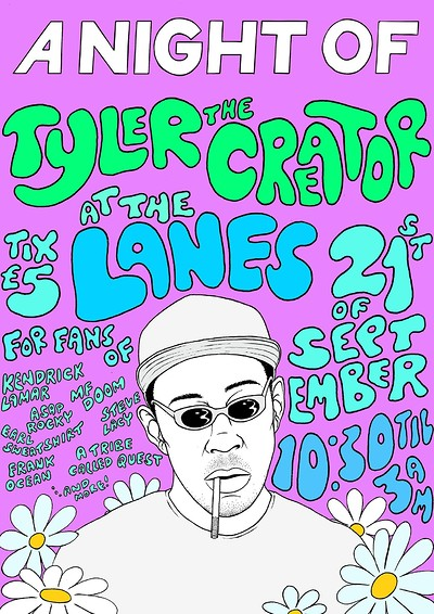 A Night Of: Tyler The Creator at The Lanes in Bristol