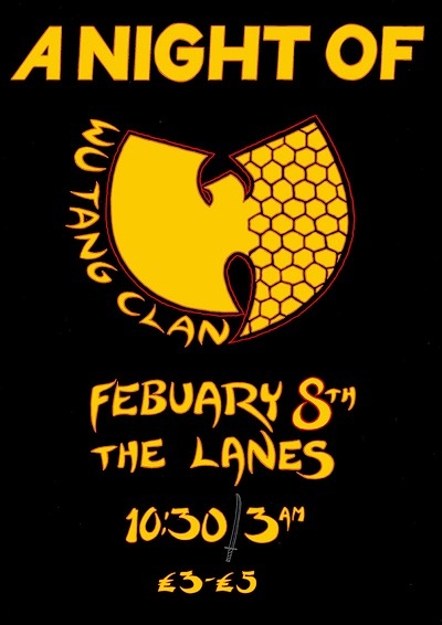 A Night Of: Wu-Tang Clan at The Lanes in Bristol