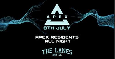 Apex - Techno all night at The Lanes in Bristol