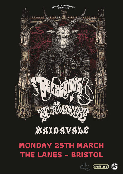 Belzebong // MaidaVale // The Necromancers at The Lanes in Bristol