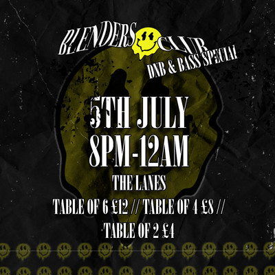 Blenders Club // DnB and Bass Special at The Lanes in Bristol