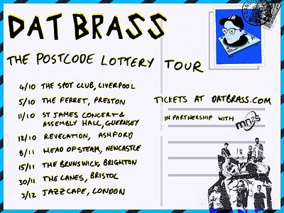 BLG Promotions Presents: Dat Brass at The Lanes in Bristol