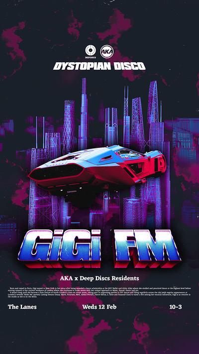 Deep Discs x AKA: Dystopian Disco: Gigi FM at The Lanes in Bristol