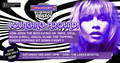 Department S Club Night | DJ John The Mod | at The Lanes in Bristol