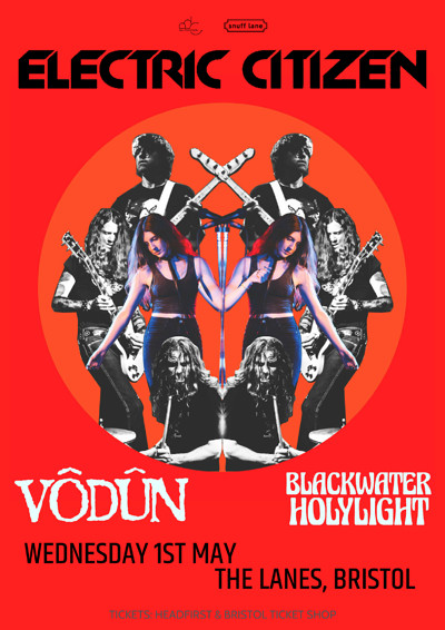 Electric Citizen // Vodun // Blackwater Holylight at The Lanes in Bristol