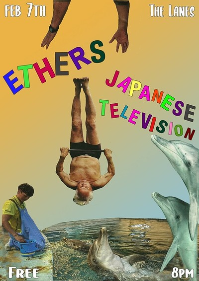 Ethers + Japanese Television at The Lanes in Bristol