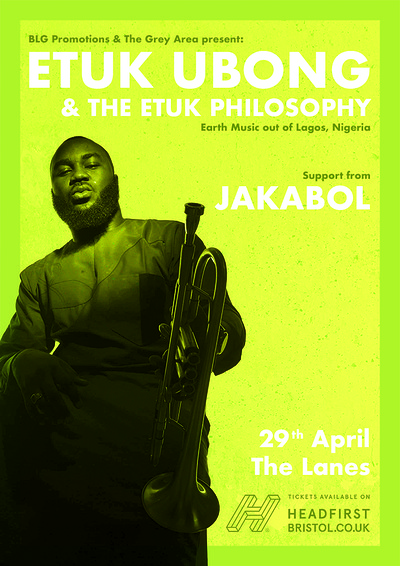 Etuk Ubong & The Etuk Philosophy (Nigeria) at The Lanes in Bristol