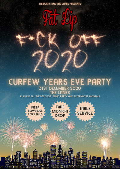 Fat Lip - Curfew Years Eve Party at The Lanes in Bristol